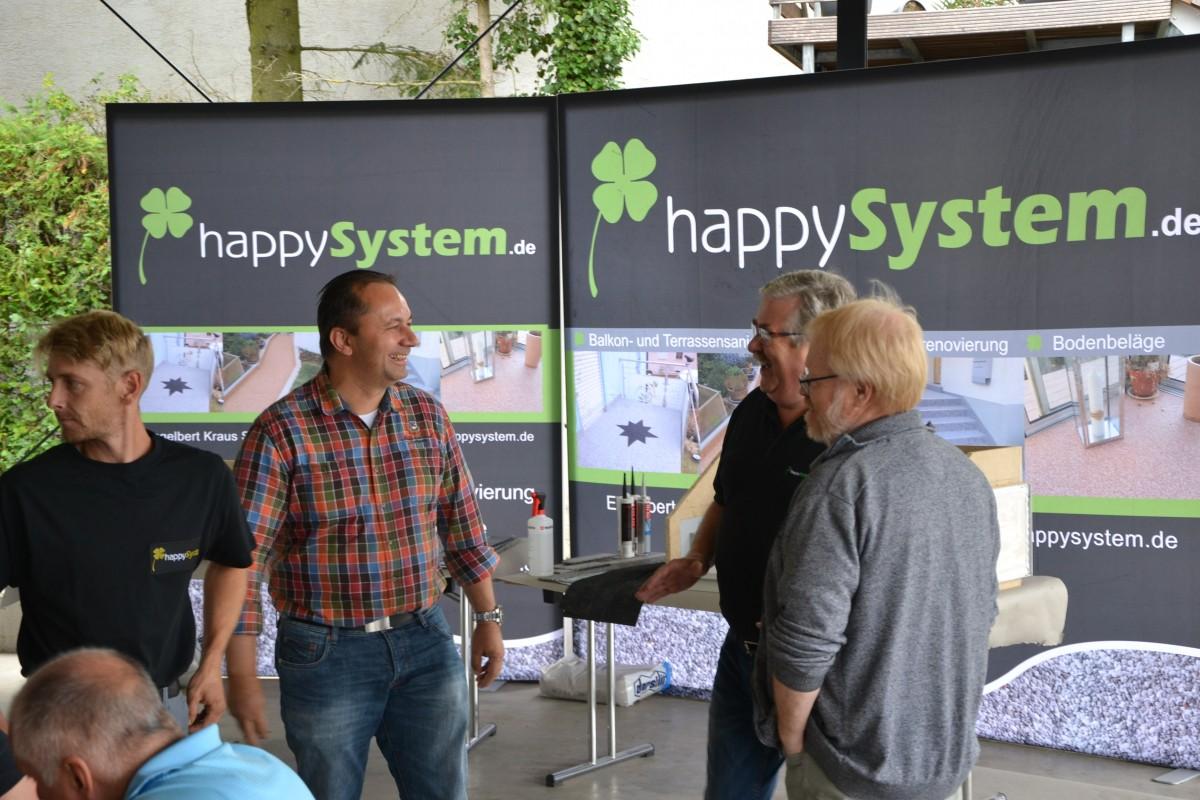 happySystem Ausbildungsstand