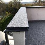 happySystem Marmorboden Balkon und Geländer