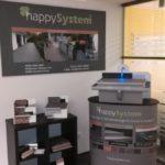 happySystem Ausstellungsstand in Großheubach